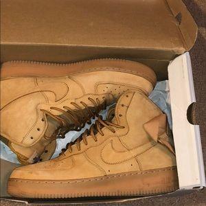 Nike Air Force 1s Nubuck